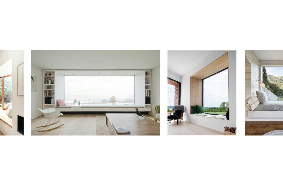 Window seating area
